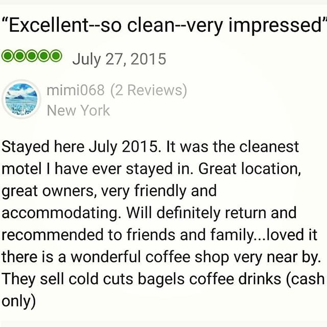We love to hear from our recent #guests, thanks for reviews