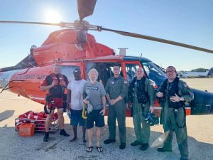 Two Men Rescued Off Barnegat Light After 68-Foot Fishing Boat Takes on Water