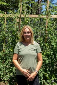 Gardener Likes Sharing Crops With Her Neighbors
