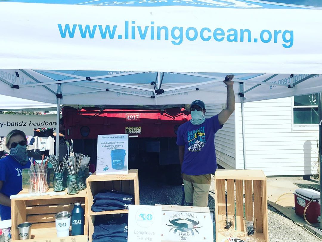 ALLIANCE FOR A LIVING OCEAN at the Surf City Farmers Market!  Fill up your water…
