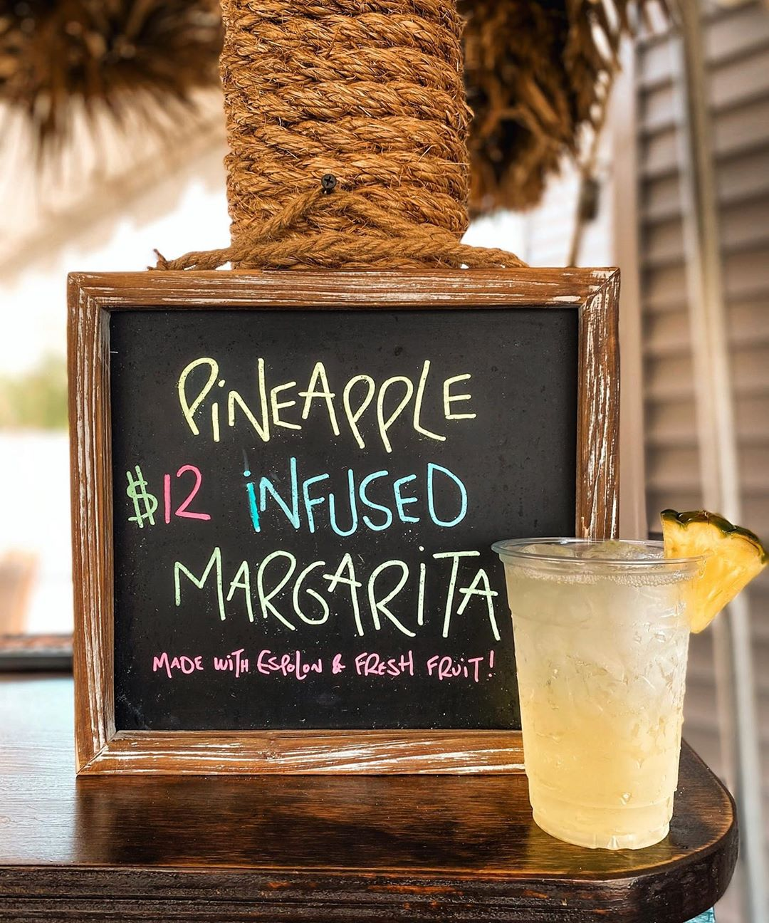 Another Good One! Who wants to Try this Pineapple Margarita  . . #surfcity #lbi …