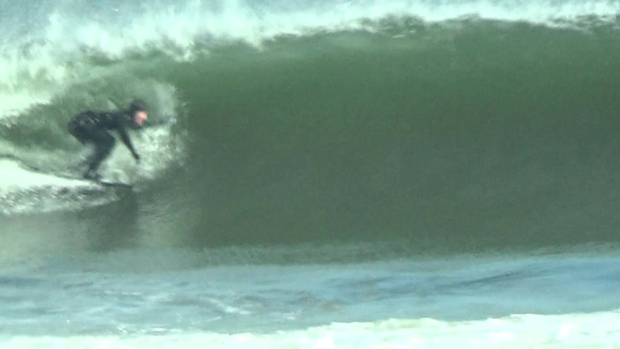 """BSS T.V. scoring some waves on Long Beach Island with a Catch Surf 5'5"""" Rounded Fish"""