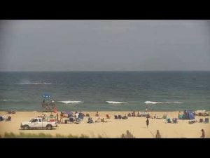 Banner plane crashes into ocean on LBI – Surf City.