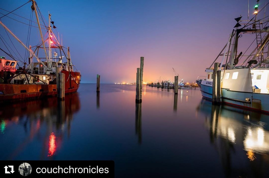 Britton catching the calm (with some amazing light) of one busy dock at night. I…