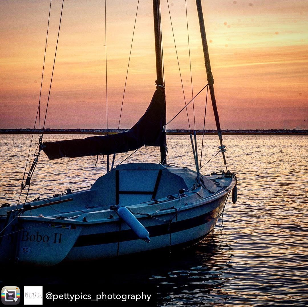 Docked sunset  Gorgeous shot by @pettypics_photography…