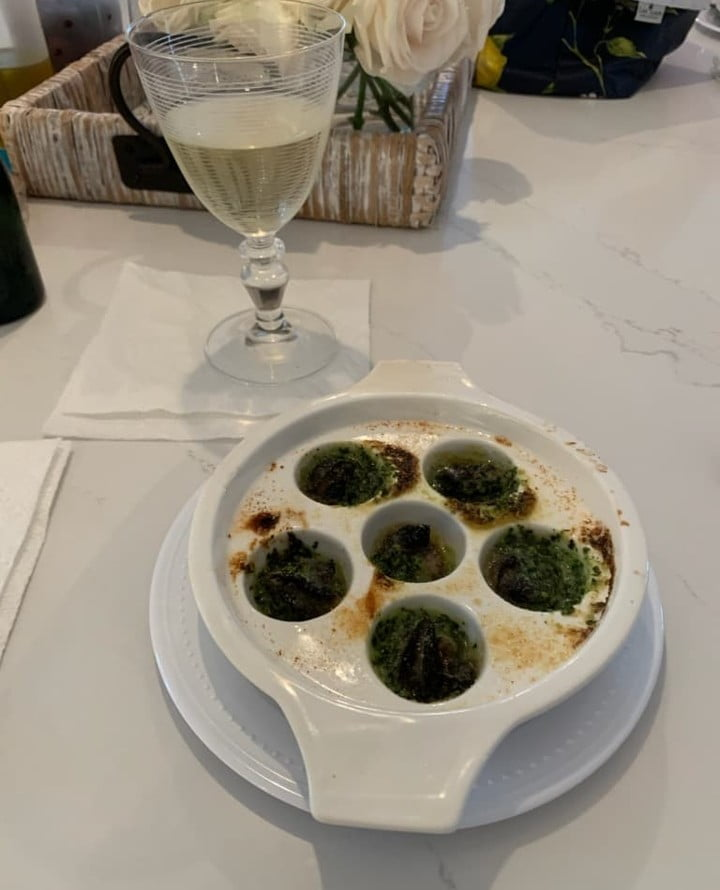 Escargot by Francis.   Did you know:   Snails have been eaten as food since …