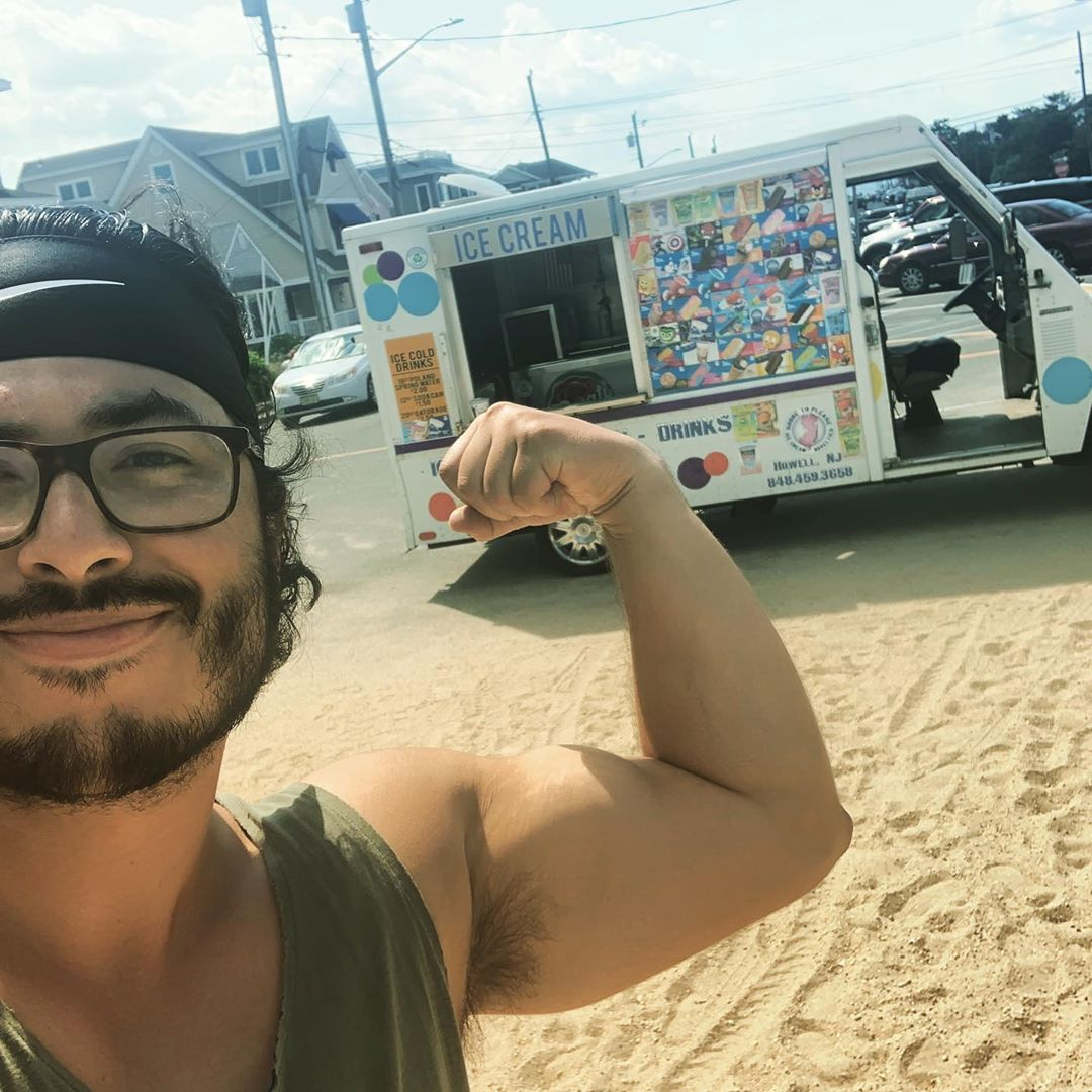 Happy Saturday! Sergio and Hillary are out on LBI helping the people stay cool w…