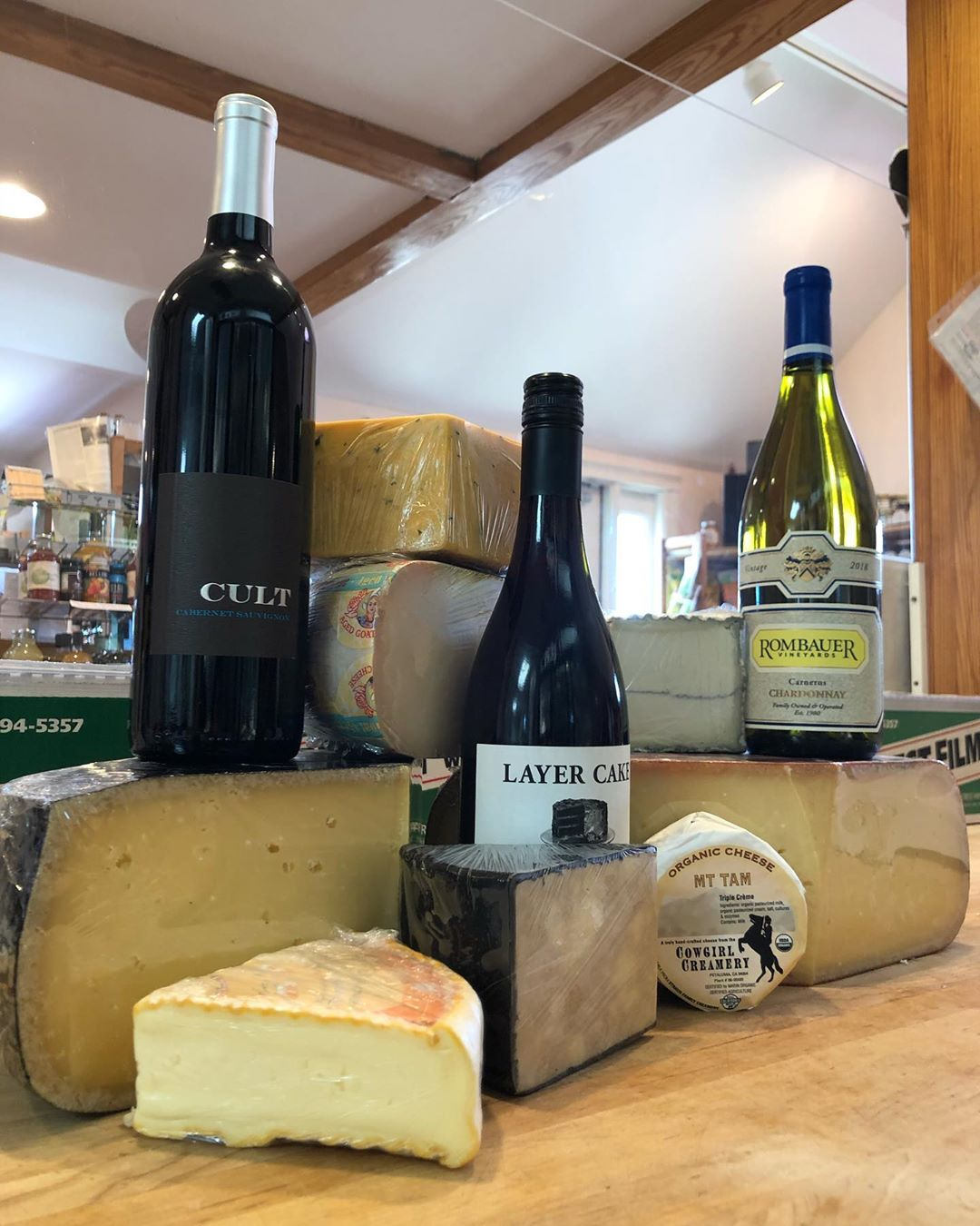 Happy national wine and cheese day! Stop in and check out our selection! ***wine…
