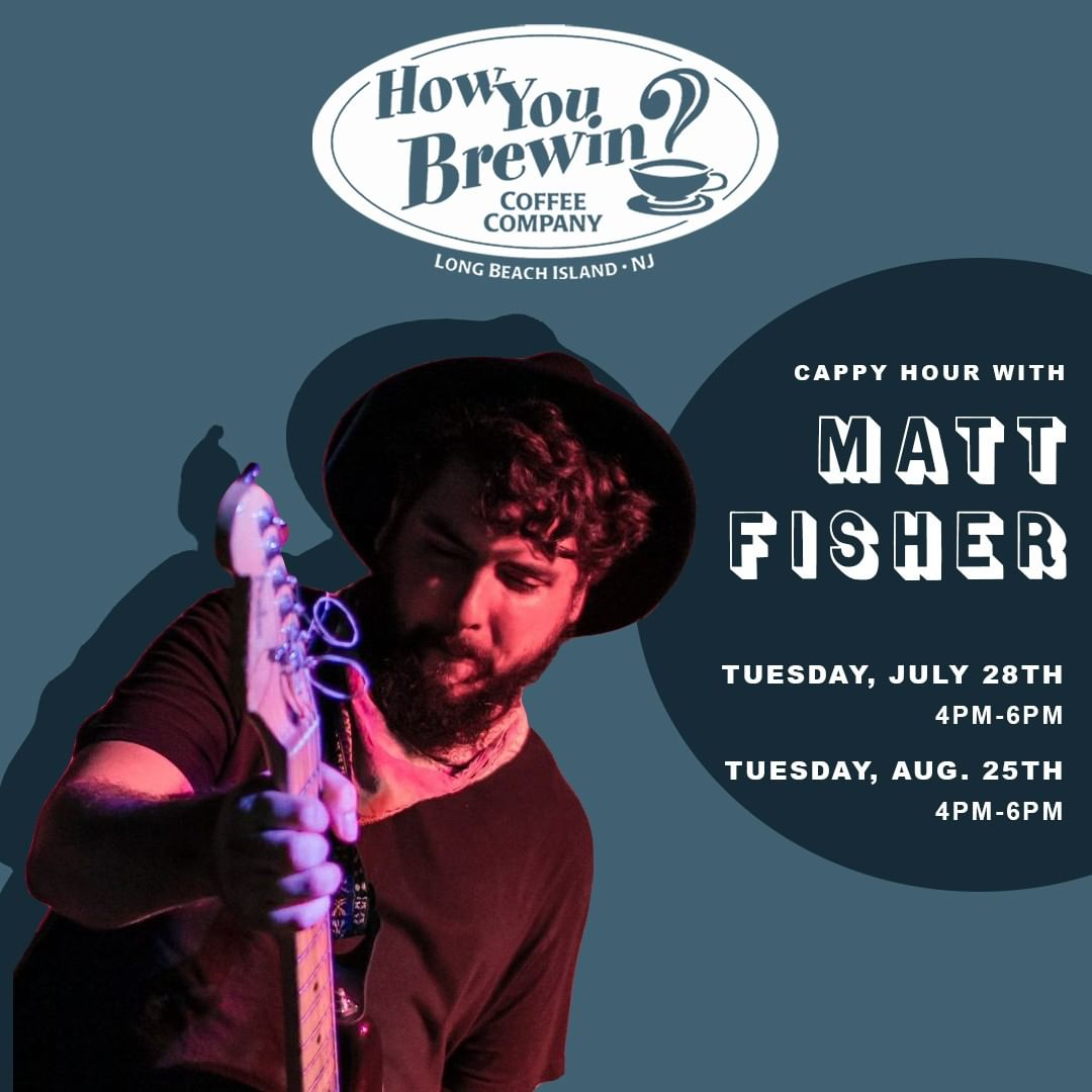 It's a perfect day for a Cappy Hour session! Join @mattfishersaloonsinger on the…