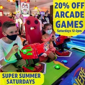 Join us for Super Summer Saturdays beginning this weekend in the arcade! Every S…