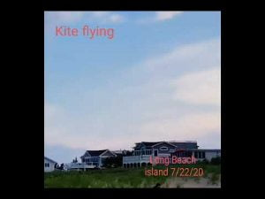 Read more about the article Kite Flying at Long Beach Island New Jersey 7/23/20