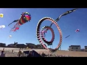 LBI FLY International Kite  Festival 2015 Long Beach Island LBI, NJ