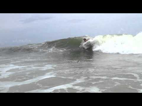 Long Beach Island Adventures-A Montage of Surfing, Bodysurfing, and Boogie-Boarding