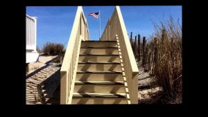 Long Beach Island Oceanfront rental Outside property Tour LBIBEACHRENTALNJ April2016
