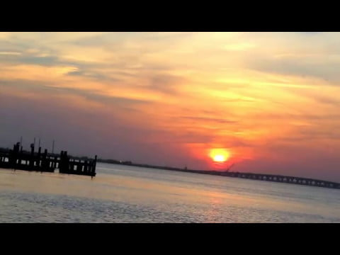 Read more about the article Long Beach Island Surf City Bay Beach Sunset, LBI, NJ