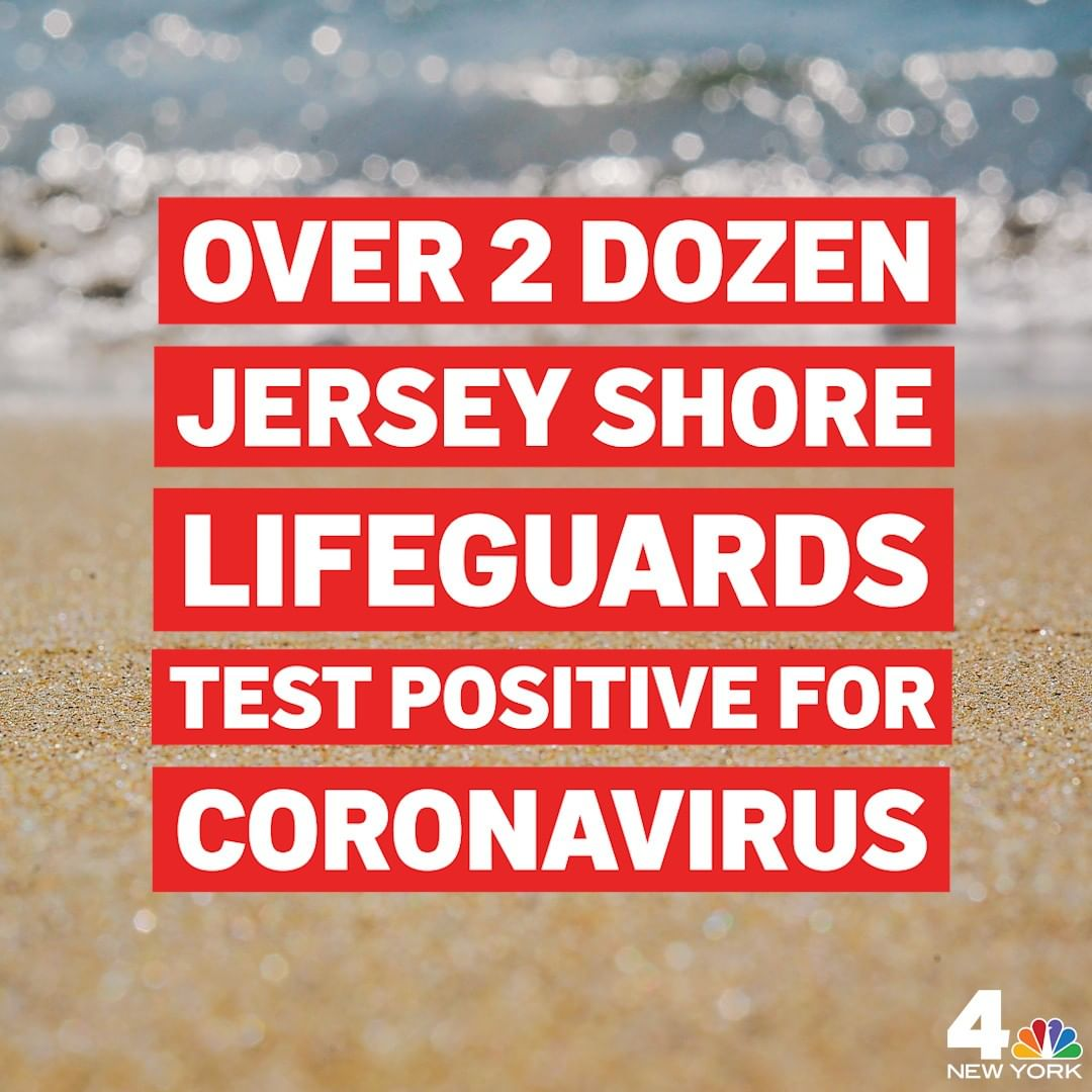 More than two dozen lifeguards from two New Jersey beach towns, Harvey Cedars an…