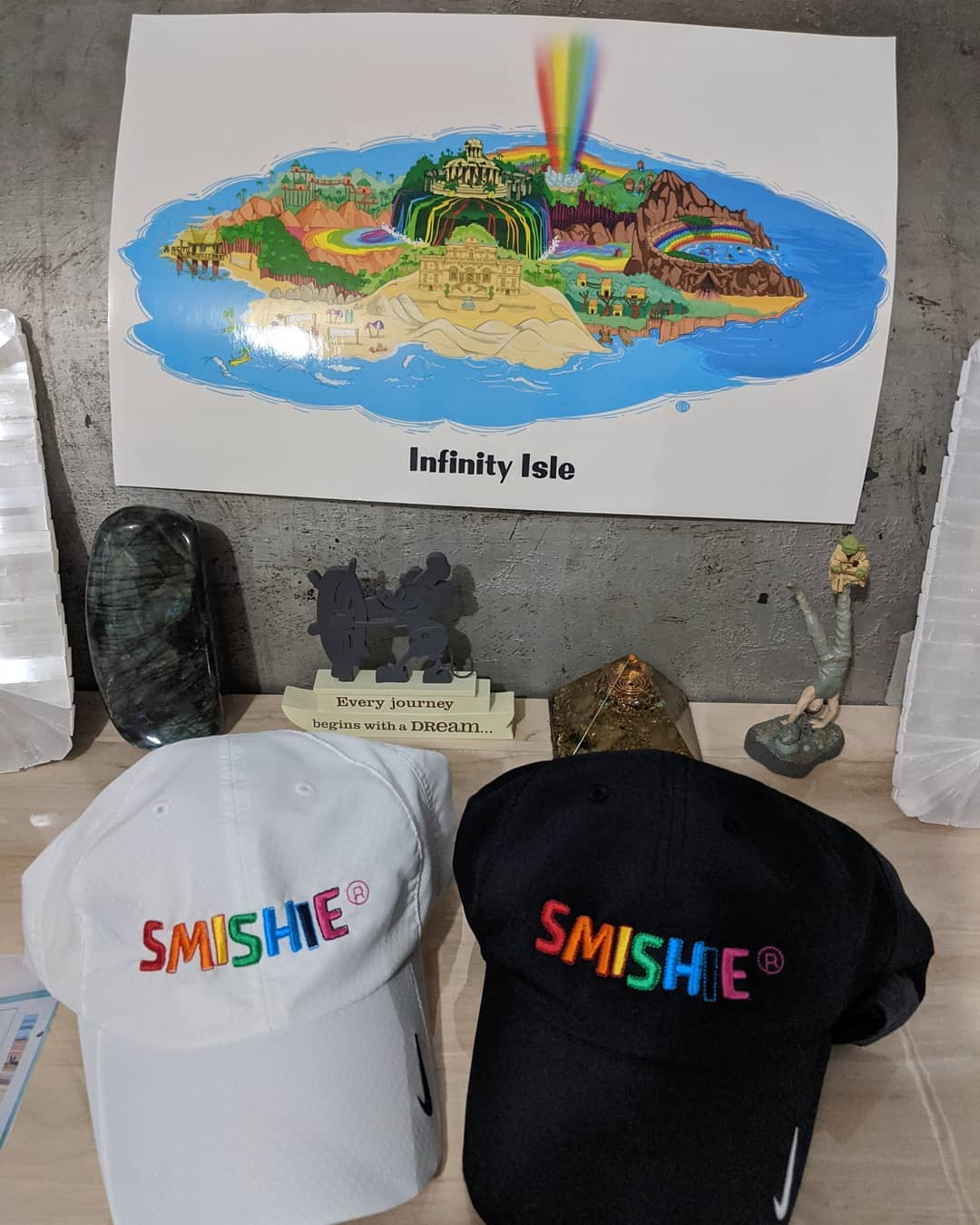 New #Smishie rainbow hats make everything a little better!  Episode 2 of the gra…