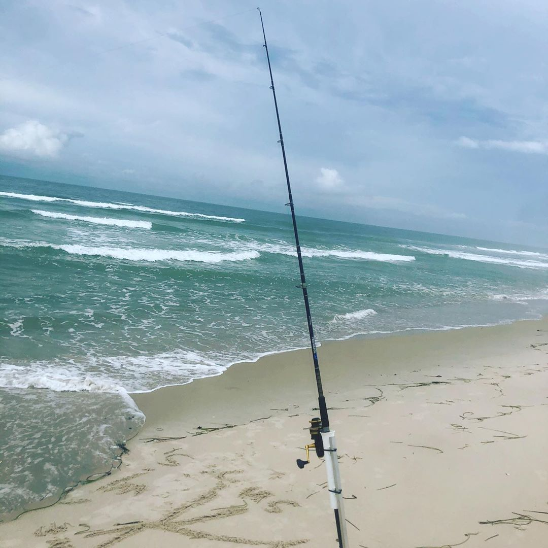 Not a bad morning to get out and do a little #surffishing #striperfishing #floun…