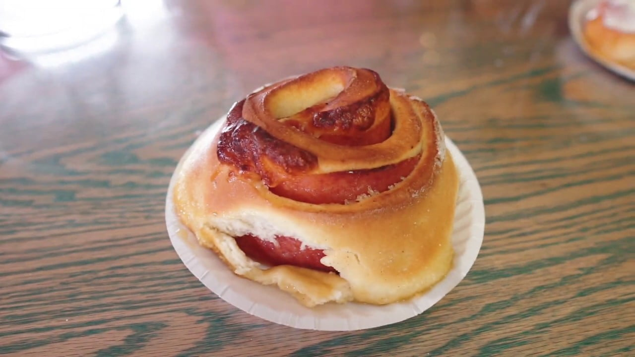 Read more about the article Pork Roll and Cheese Cinnamon Roll  – Long Beach Island, NJ