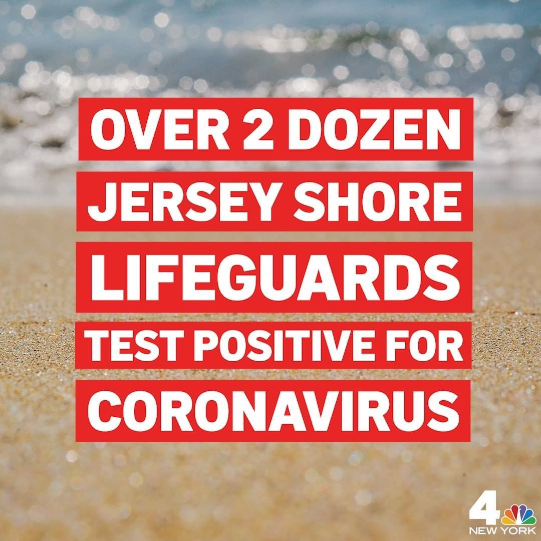 """RepostBy @nbcnewyork:  """"More than two dozen lifeguards from two New Jersey beach…"""