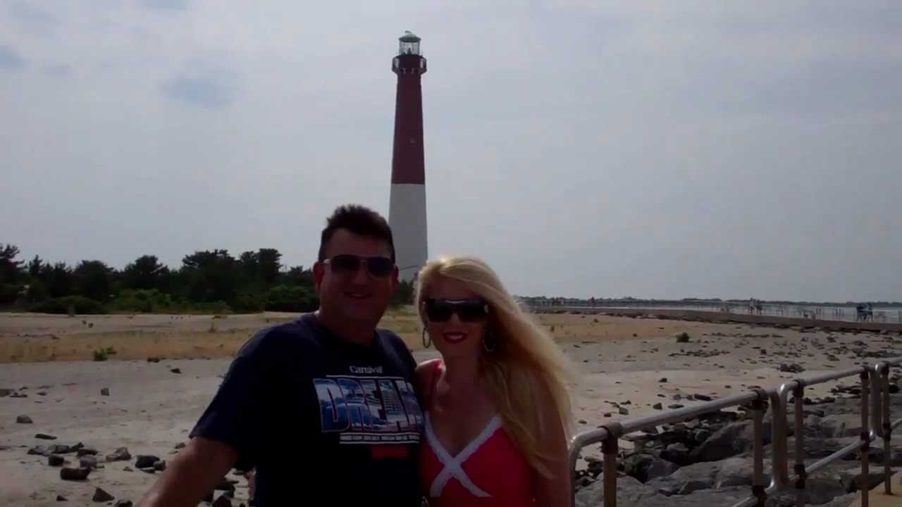 The Barnegat Lighthouse on Long Beach Island, New Jersey