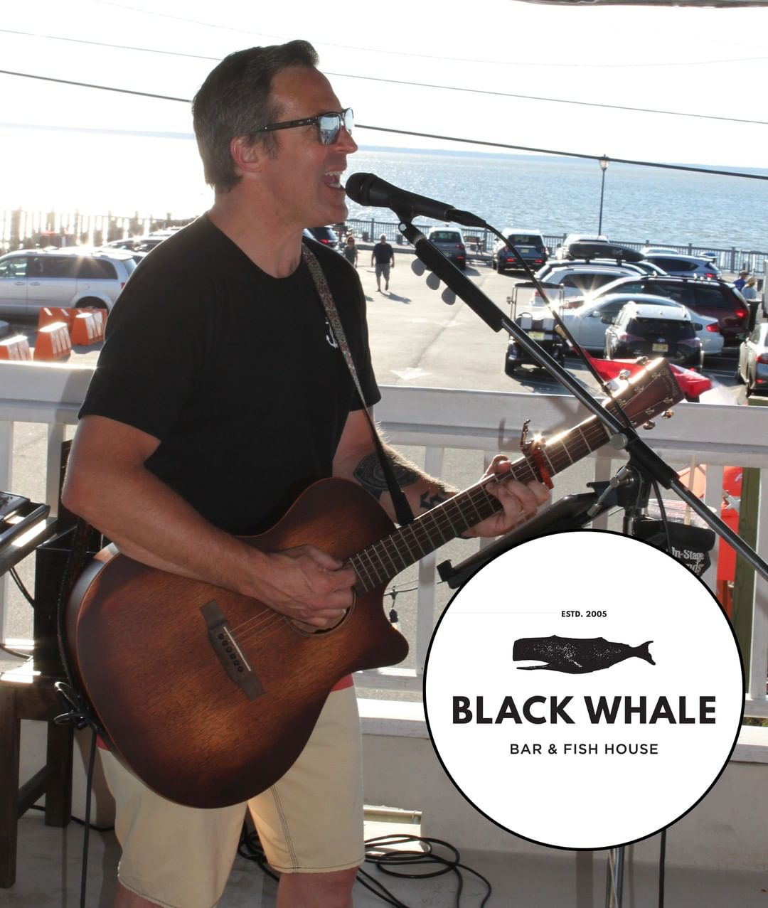 We've got Chris Fritz playing outside at the Whale tonight, 7:30-9:30. Come hang…
