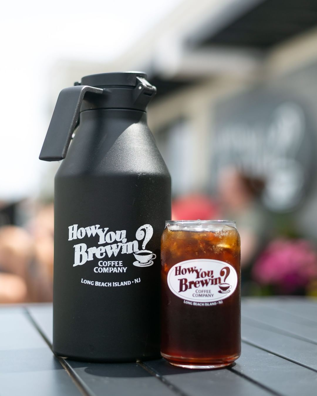 When the day requires more than one glass of coffee… fill up a growler! Check …