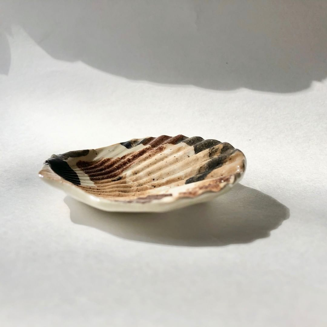 another shell dish, and a bit more of the story. Growing up going to the beach o…