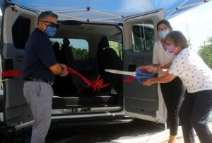 Nonprofit's New Passenger Van an 'Amazing Asset' for Seniors