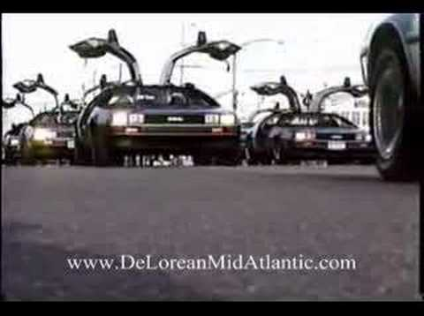 2006 Long Beach Island Holiday Parade DeLorean Mid-Atlantic