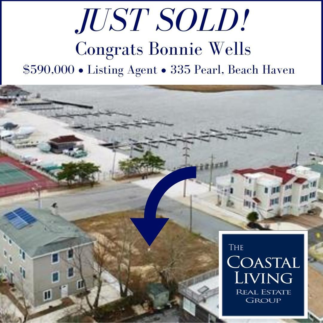 Congrats Bonnie for the sale of 335 Pearl in Beach Haven!                …
