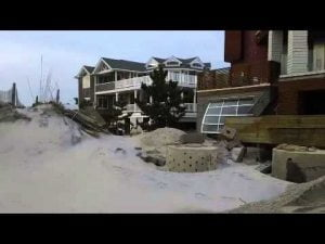 Damage from Hurricane Sandy, Coast Ave, Long Beach Island, NJ