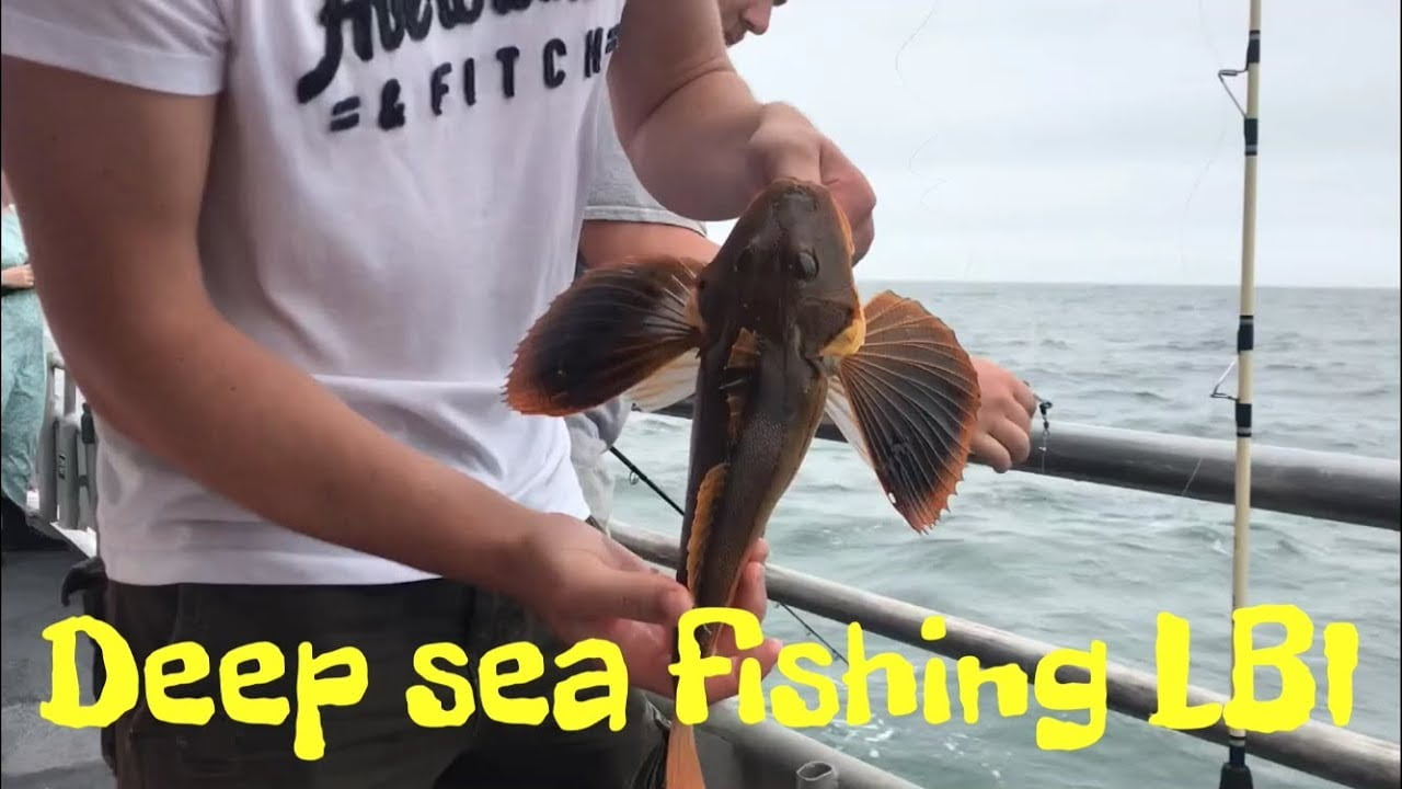 Deep Sea Fishing LBI New Jersey! #LBI