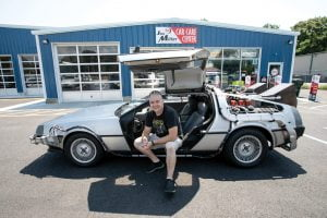 Delorean Time Machine, One Part of a Dad's Work