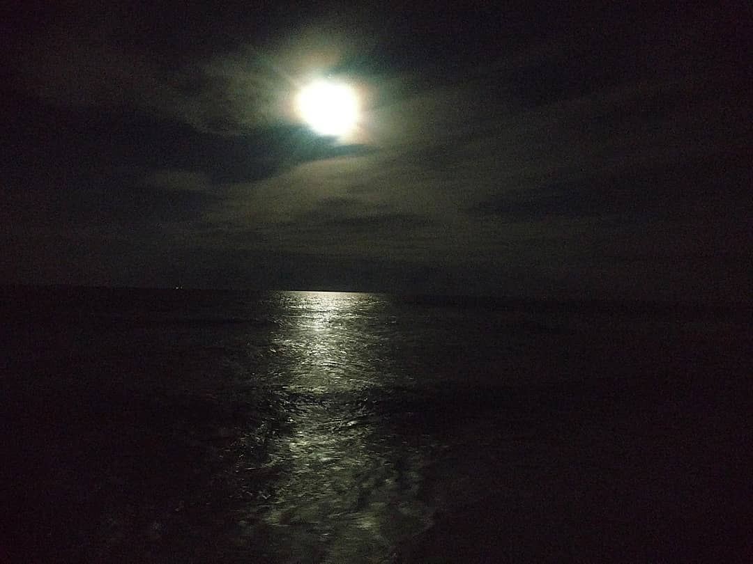 Had another great weekend down the shore with the family on LBI. The moon last n…
