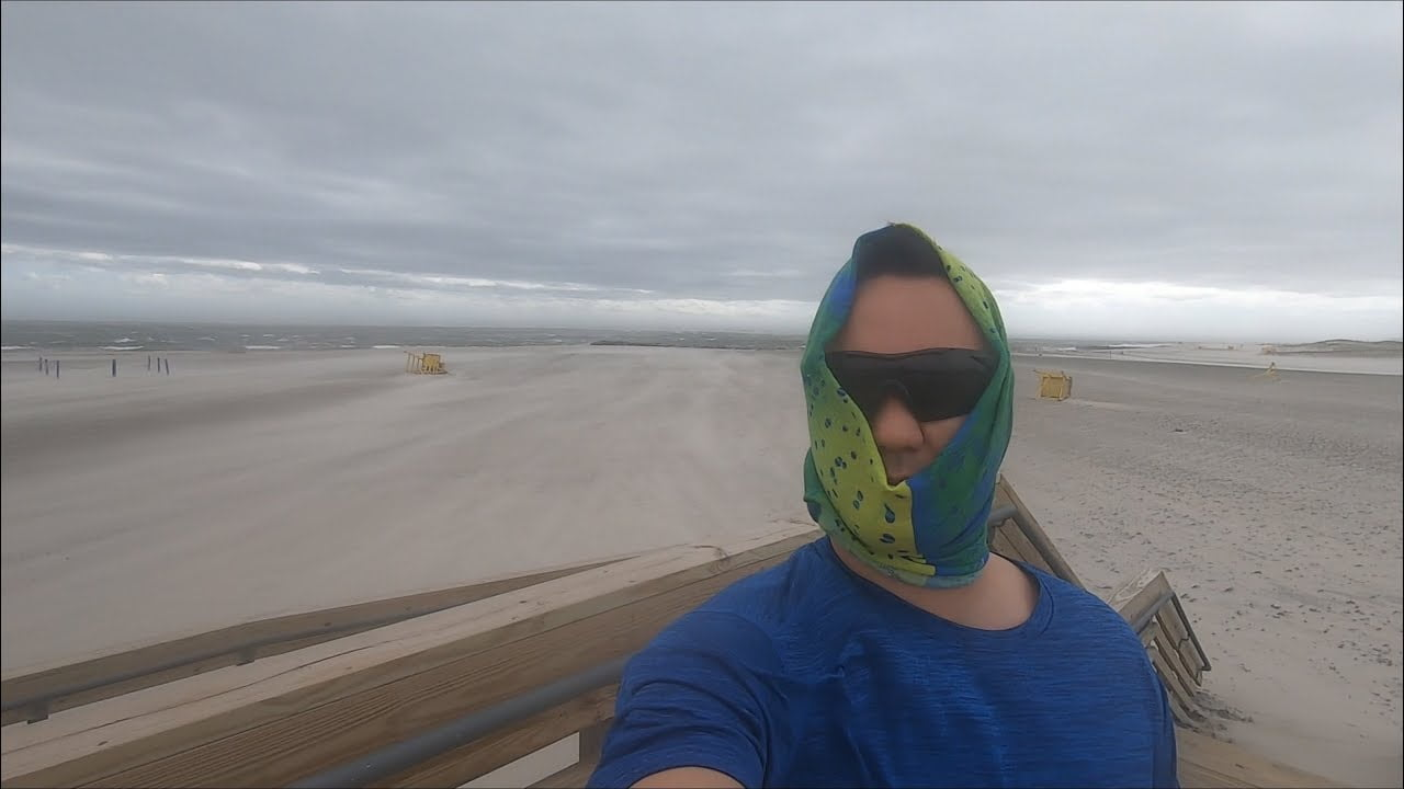 Hurricane Force Winds on the Beach | Tropical Storm Isaias | Long Island, NY