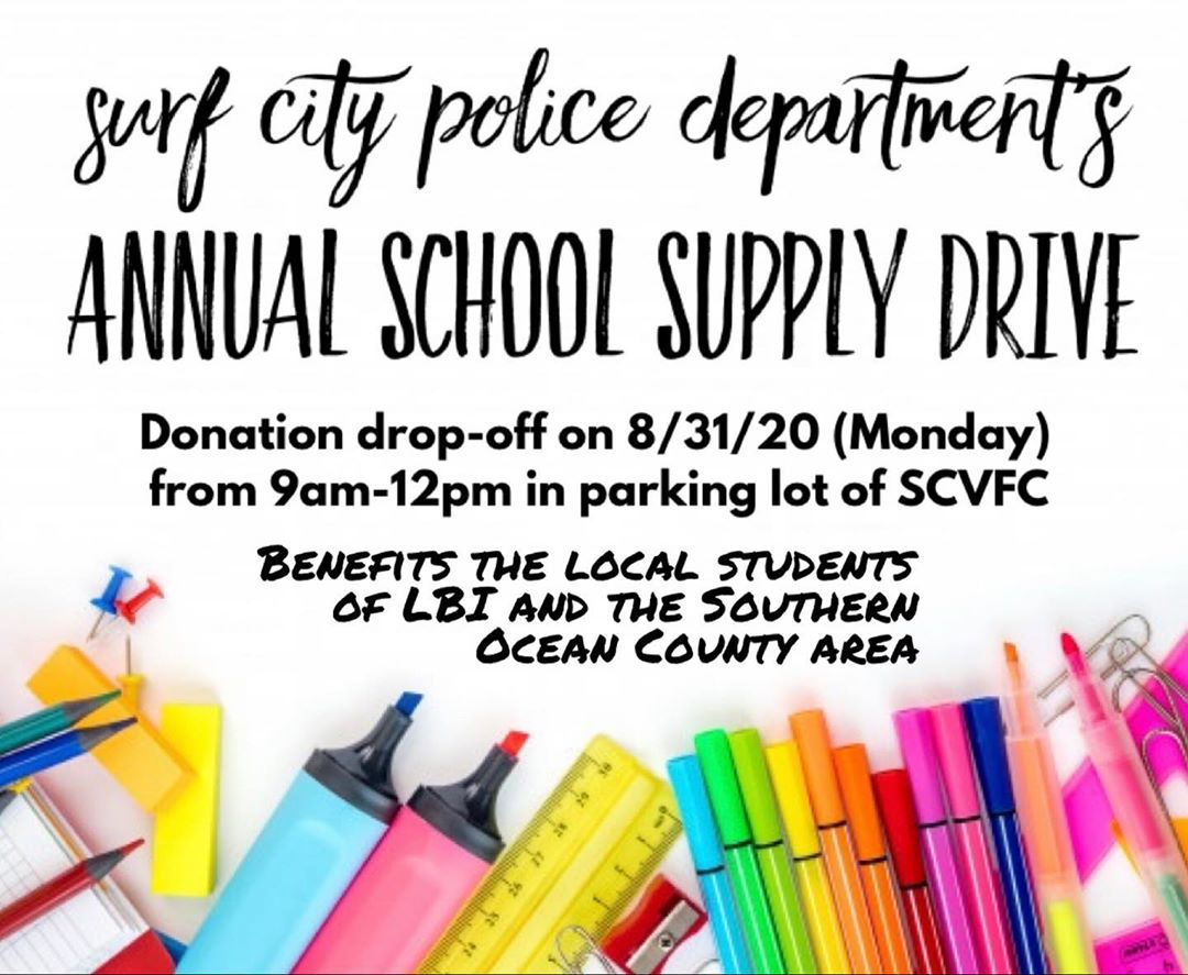 LBI **2020 School Supply Drive**  We think it's safe to say that 2020 has been a yea…