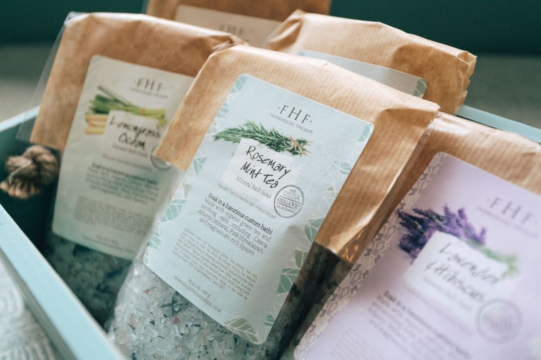 LBI A soak for sore muscles    These one-pound blends of soothing salts and herbs ar…