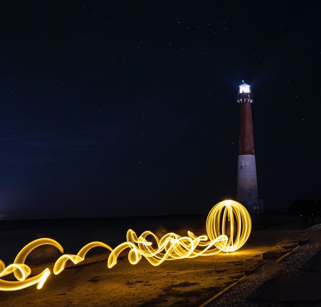 LBI Barnegat Lighthouse with orb    …
