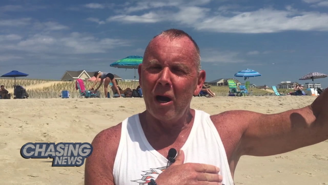LBI Beachgoer Grabs A Shark & A Lot Of Attention #LBI
