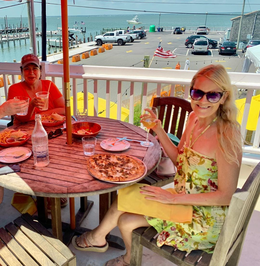 LBI Beautiful day for dining on the deck at Bird & Betty's !         …