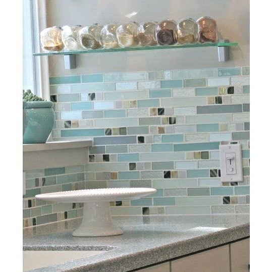 Read more about the article LBI Beautiful tiles! I just love some beautiful glass backsplash  What is your favor…