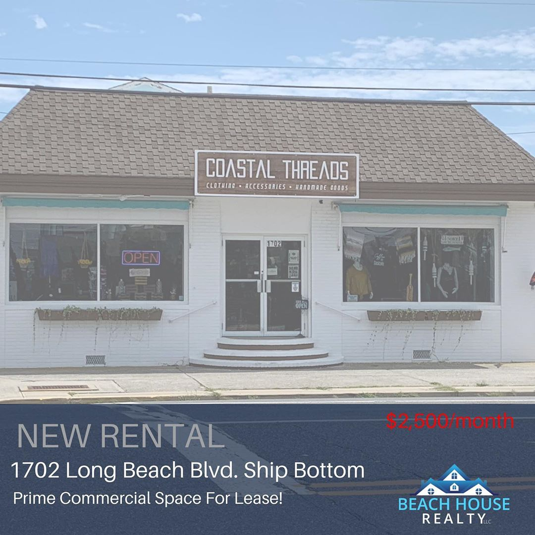 LBI Commercial Space For Lease in Ship Bottom. Contact me today for more information…