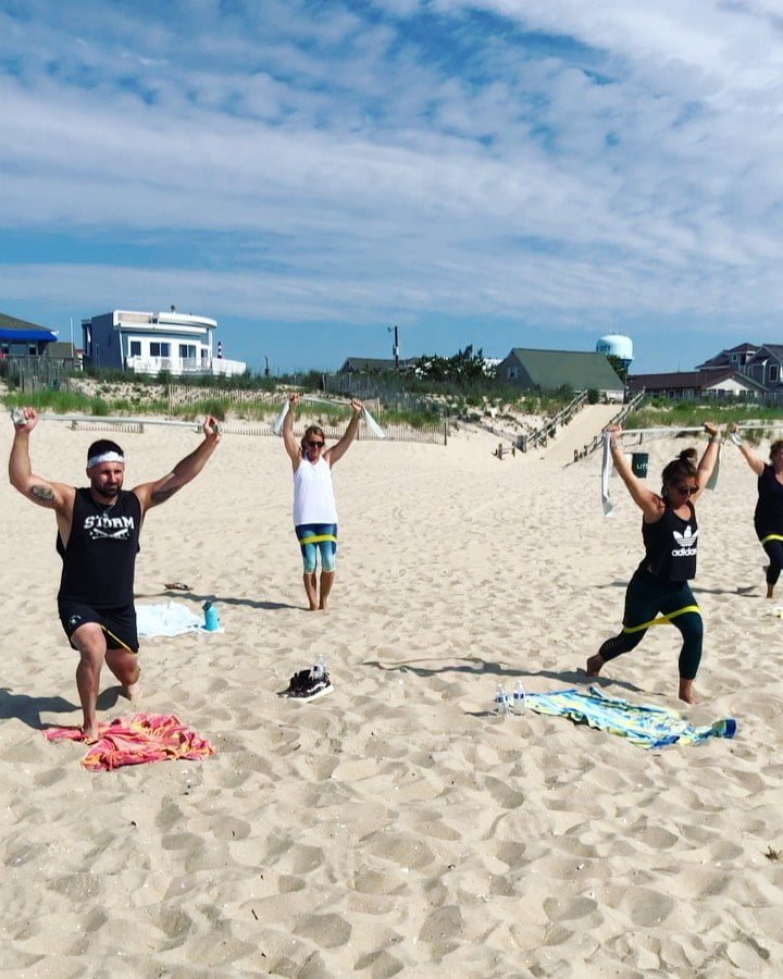 LBI Everything is better at the beach  Our signature beach classes are still going s…