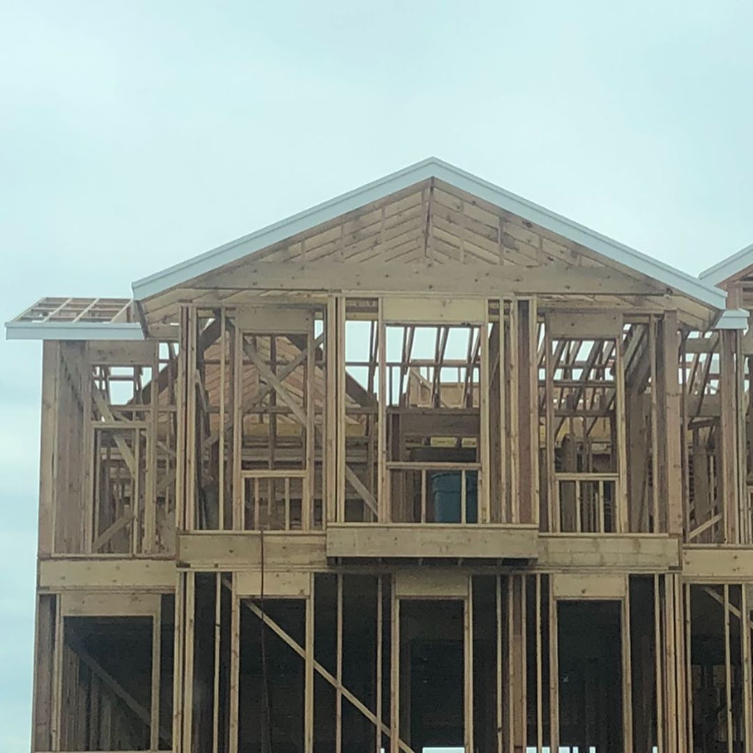 LBI Fascia done at 100th. Sheathing next week. Starting to look like a house and exc…