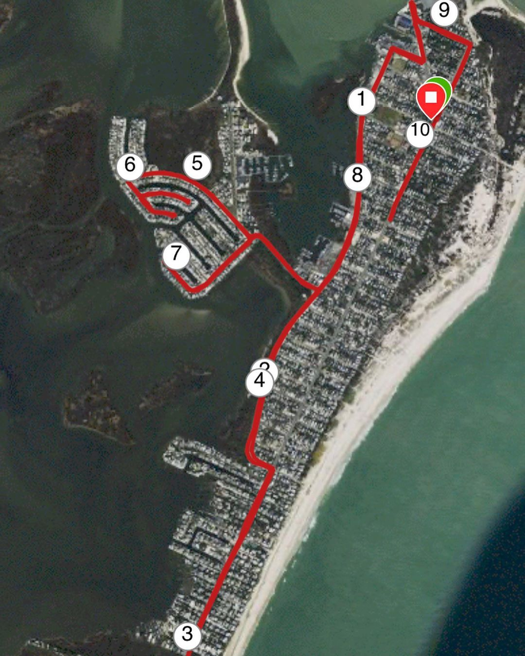 LBI Finished up the week with another lighthouse run! And I made sure to finish stro…