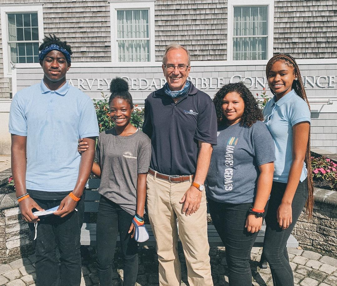 LBI Four standout Launch students: Dyvne, Zack, Yari, and My'Rell earned the opportu…