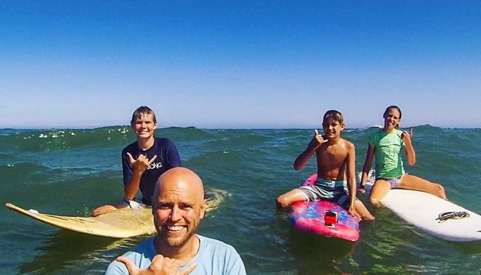 Read more about the article LBI Hanging loose, in-between sets. . . .                              …