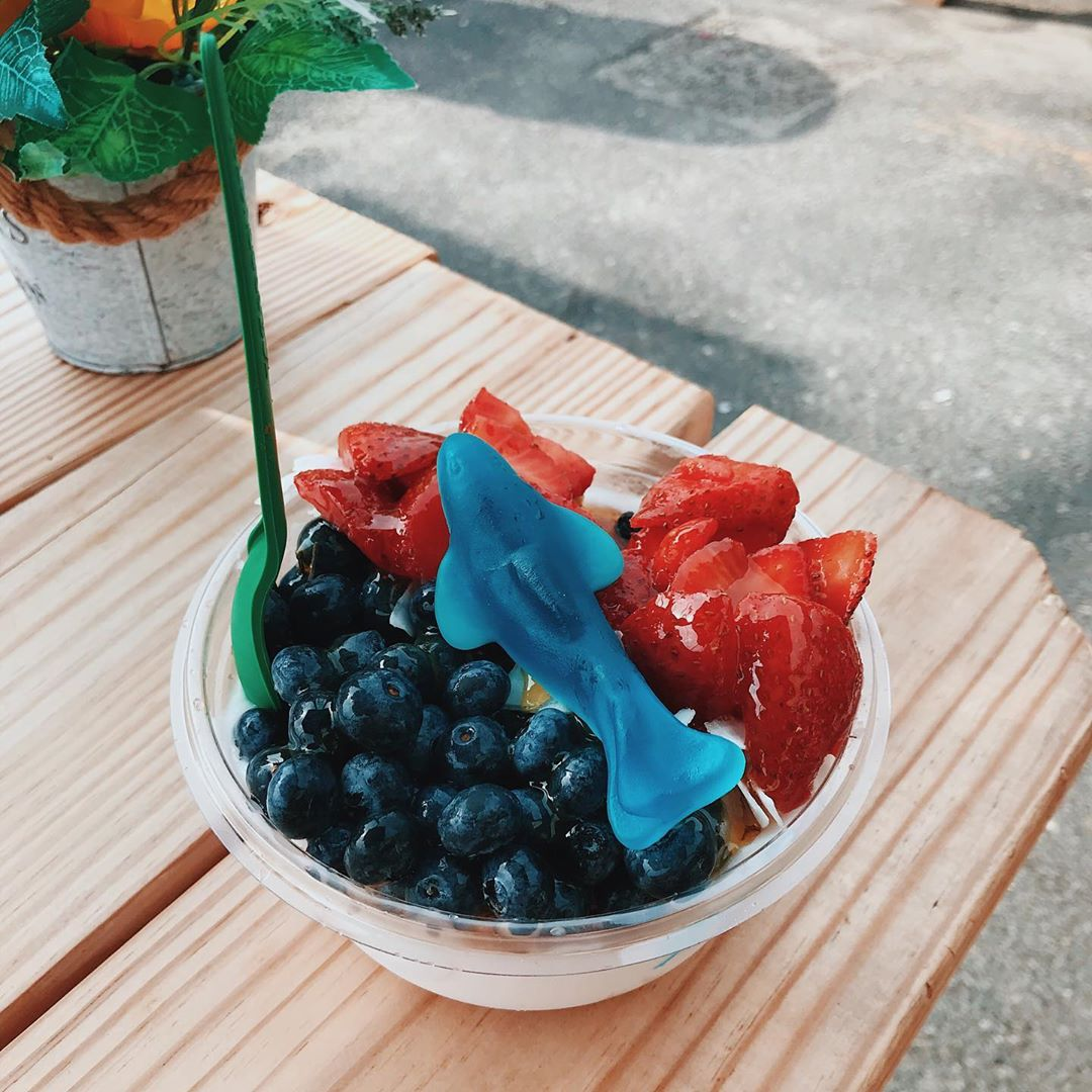 LBI Happy Shark Week !  Celebrating w this special bowl this morning :)   …