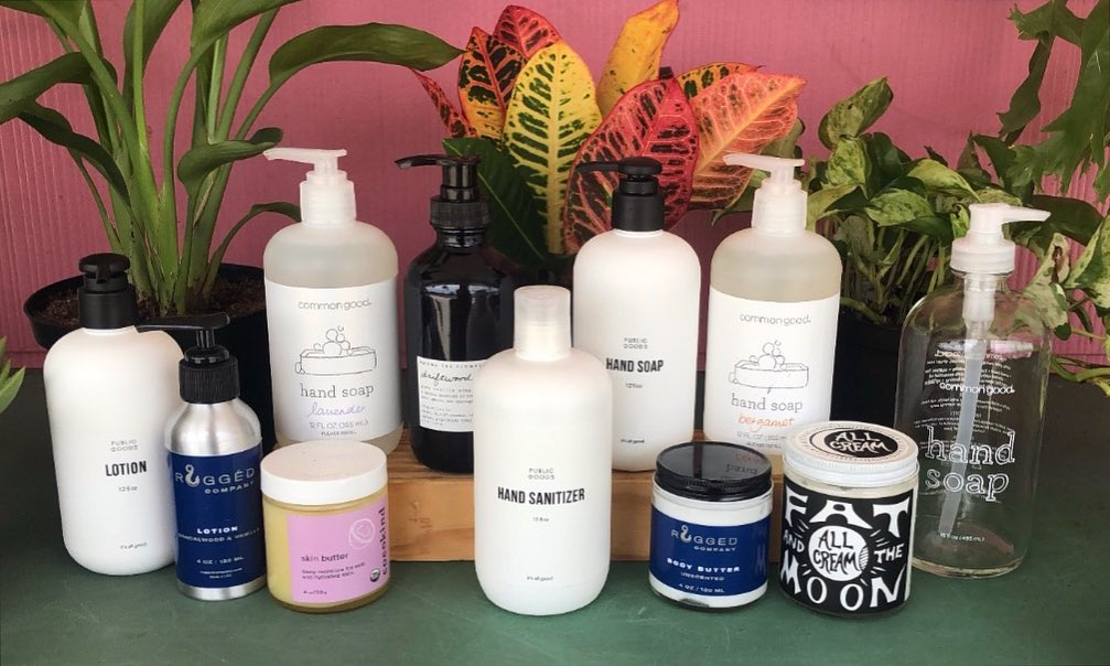 LBI Have you seen a more clean and power line up?  Hand soaps, hand sanitizer, and l…